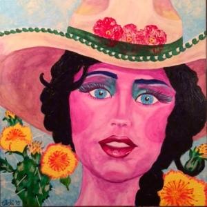 Intuitive portrait: Prairie Flower